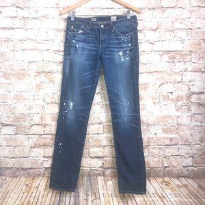 AG Adriano Goldschmied Stilt Cigarette Jeans